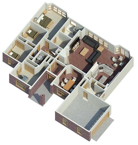Google Floorplanner carlston ranch home plan 007d 0062 house plans and more