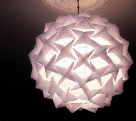 How To Make A Paper Light - how to make a stunning designer look origami paper lantern