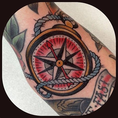traditional compass tattoo 1000 ideas about traditional compass on