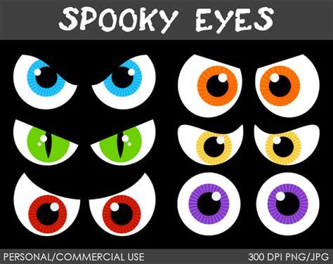 Printable Halloween Spooky Eyes | spooky eyes clipart digital clip art graphics by mareetruelove
