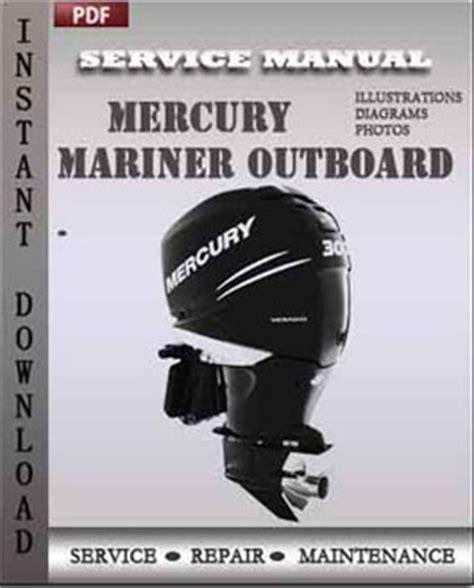 Mercury Mariner Outboard 20jet 20 25 Hp 2 Stroke Repair
