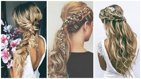 Boho Wedding Hairstyles by Amazing Wedding Hairstyles For Hair
