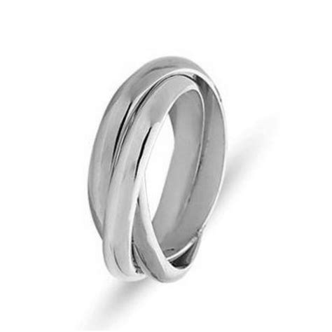 211181pp platinum russian wedding band