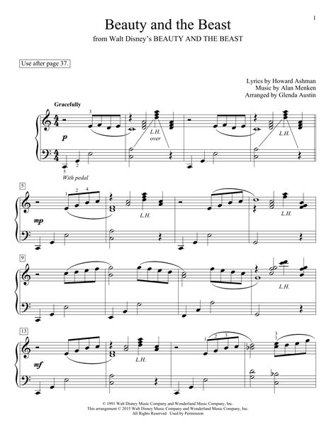 celine dion beauty and the beast song free mp3 download beauty and the beast sheet music by celine dion peabo