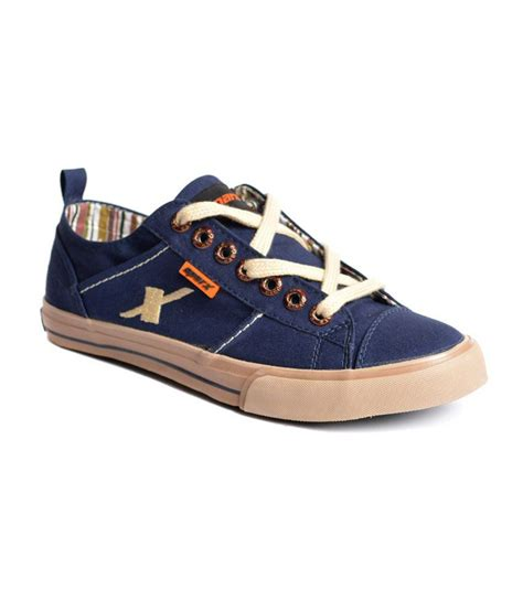 sparx blue sneaker shoes bsc130navyblue price in india