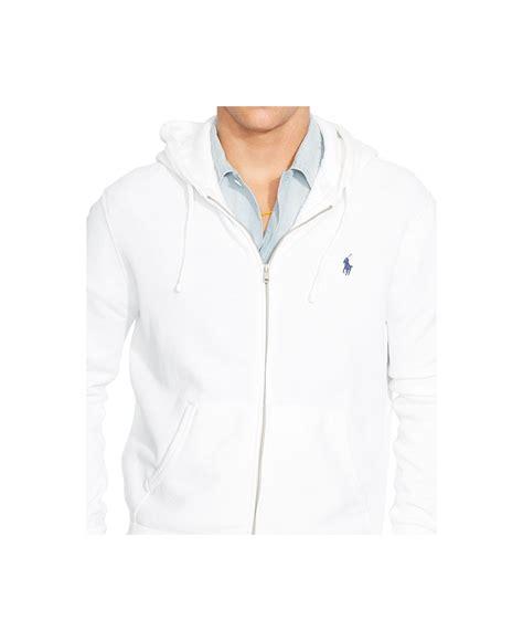 Polos Zip Hoodie ralph polo green zip hooded sweatshirt