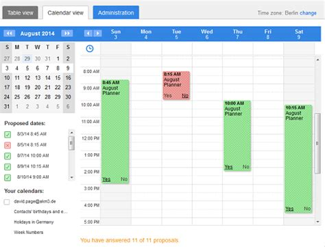 doodle poll tableview doodle provides the best calendar for business doodle