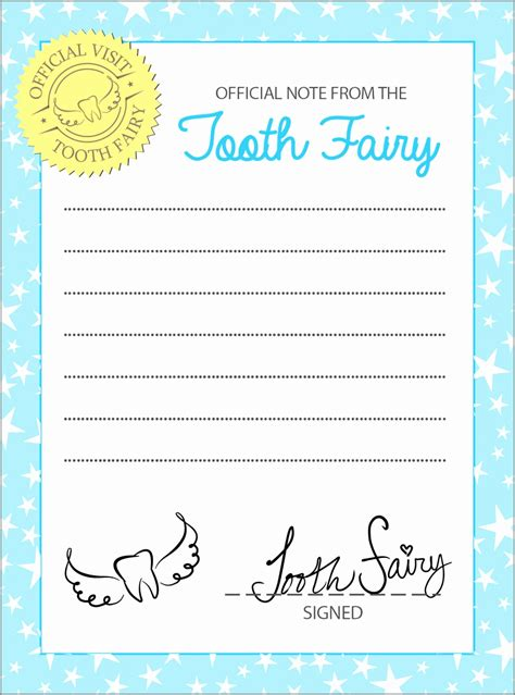 Tooth Letter Template Boy