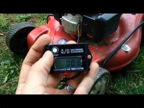 how to hook up an hour meter on a boat how to install an hour meter on a yard machines 550ex