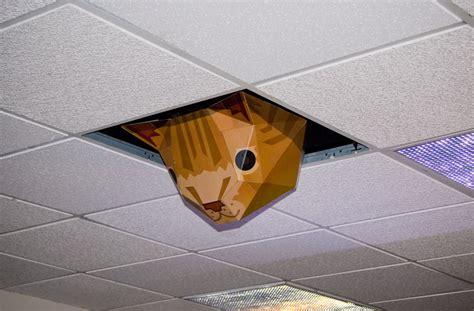 Ceiling Cat Papercraft - sparkfun tours thinkgeek news sparkfun electronics