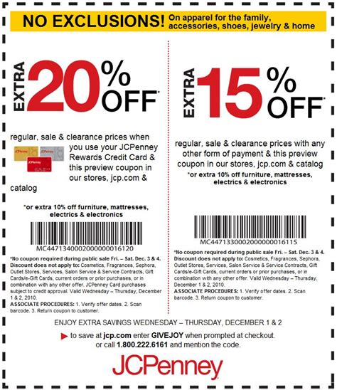 jcpenney coupons in store printable 2014 jcpenney coupons get great discount