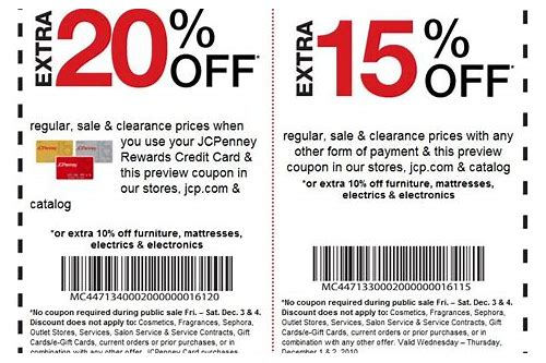 jcpenney promo codes brad's deals