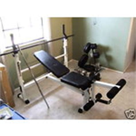 body by jake bench press body by jake lx 805 olympic bench with weights nr 07 13 2009