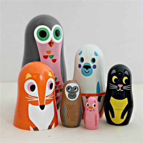 design a nesting doll owl and co nesting dolls by posh totty designs interiors
