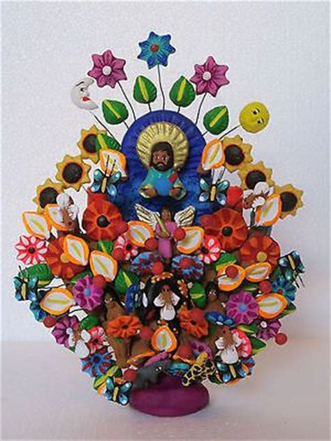 pin by eve clay on blogilates by cassey ho pinterest tree of life adam eve hand made with clay mexican folk
