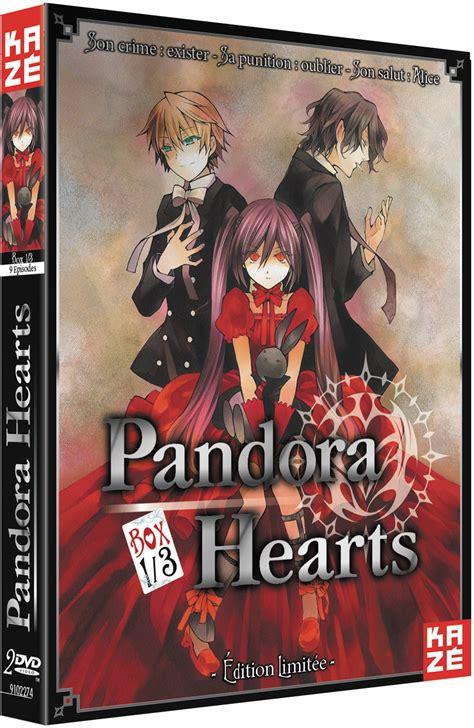 pandora hearts 1 233 dition coffrets dvd kaze sanctuary