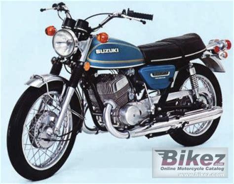 1976 Suzuki Gt500 1976 Suzuki Gt 500 Specifications And Pictures