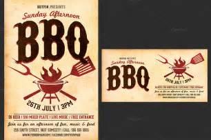 bbq flyer template free flyer templates design bild