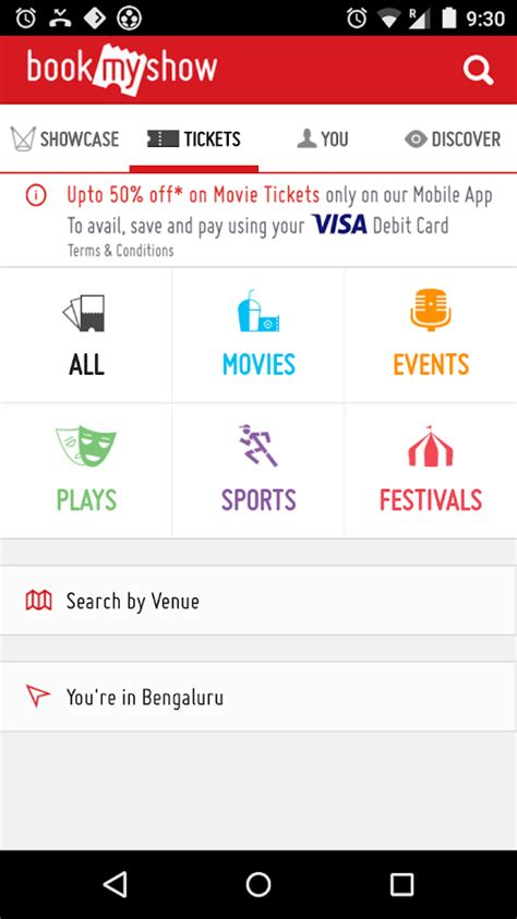 bookmyshow booking id bookmyshow movie tickets plays android apps on google play