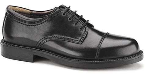 dockers gordon cap toe oxford shoes dockers s gordon cap toe oxfords in black for lyst