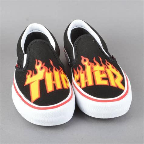 Vans Slip On Thrasher Premium Quality vans x thrasher