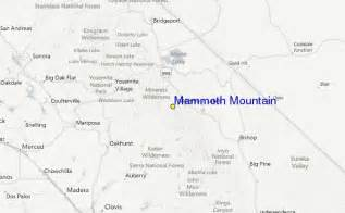 mammoth mountain california map mammoth mountain ski resort guide location map mammoth