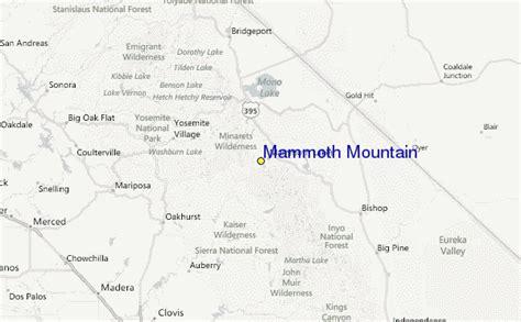 mammoth mountain map california mammoth mountain ski resort guide location map mammoth