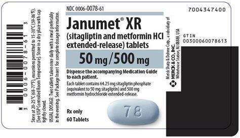 Janumet Tablet janumet xr fda prescribing information side effects and