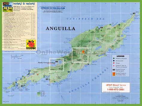 anguilla world map travel map of anguilla