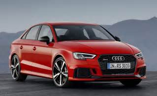 Audi Rs 3 Audi Rs3 Sedan Revealed With 400 Ps