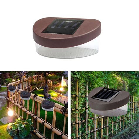 High Quality Solar Landscape Lights High Quality New Outdoor Solar Powered Led Path Wall Landscape Mount Light L Garden Fence In