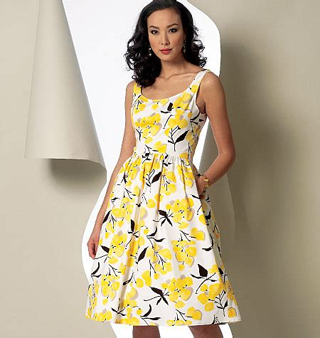 vogue patterns 9100 misses' dress sewing pattern