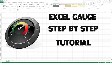 how to create excel kpi dashboard with gauge control youtube