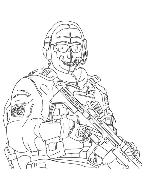 call of duty modern warfare coloring pages pictures to pin