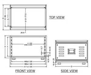 precision racks electronic modular enclosures including