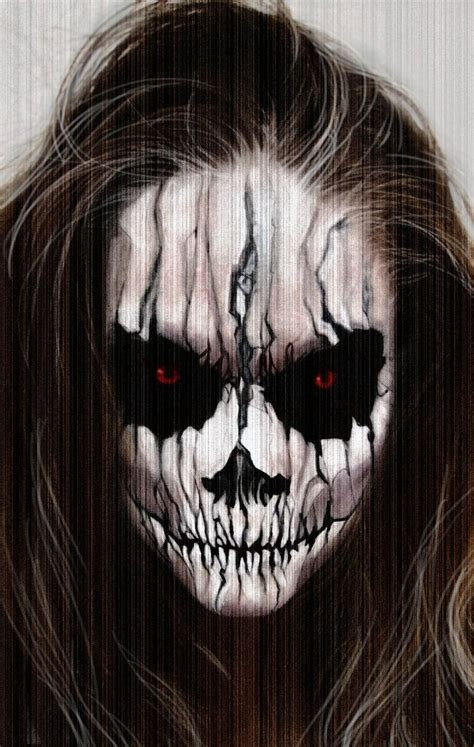 25 Best Ideas About Scary by Makeup Faces
