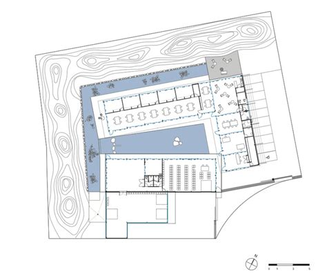 research center floor plan archeodunum archeologic research center christophe hutin