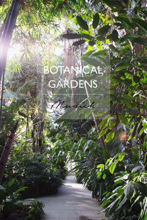 Munich Botanical Gardens Botanical Gardens Munich Curate Display