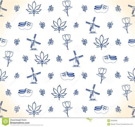 holland pattern stock dutch pattern stock vector image of wallpaper delft