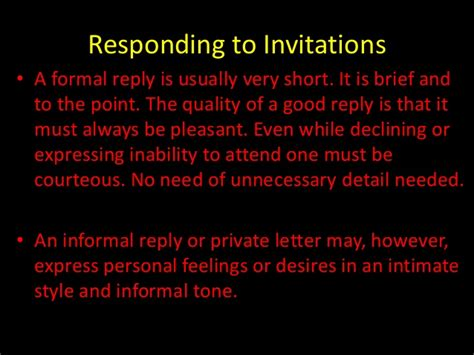 informal reply to a wedding invitation accepting and declining invitations