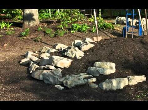 Build A Rock Garden For Miniature Conifers Youtube How To Build Rock Garden