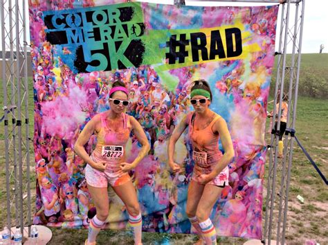 what to expect running a color run in