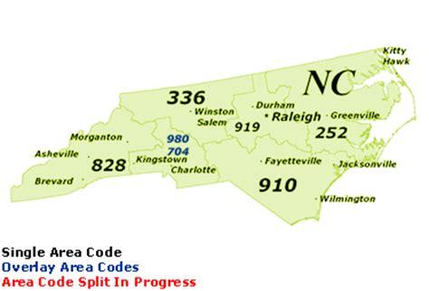 carolina area codes map find carolina area codes by map