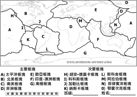 plate tectonics diagram worksheet 11 best images of plates of the earth worksheet plate