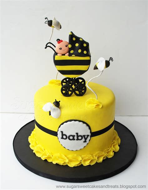 Bumble Bee Cakes For Baby Shower bumble bee baby shower cake cakecentral