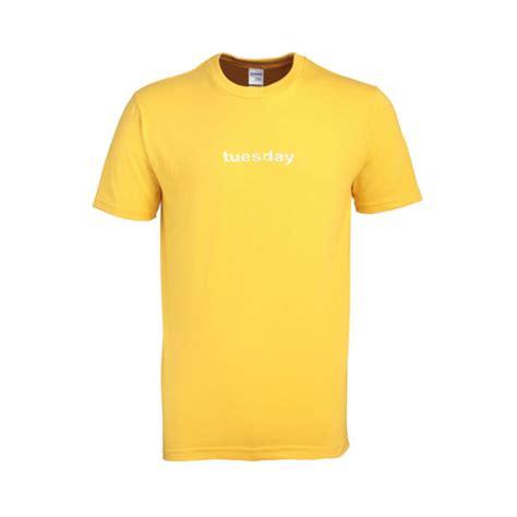 Tshirt Tuesday tuesday yellow tshirt