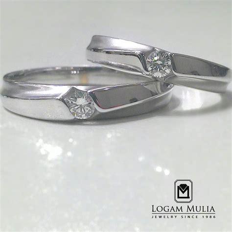 Cincin Nikahan Cincin Satu Pasang jual cincin kawin berlian crwm ys7126r 02 01 tss eet logammuliajewelry