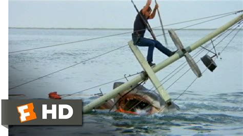 jaws sailboat jaws 1975 brody kills the beast scene 10 10