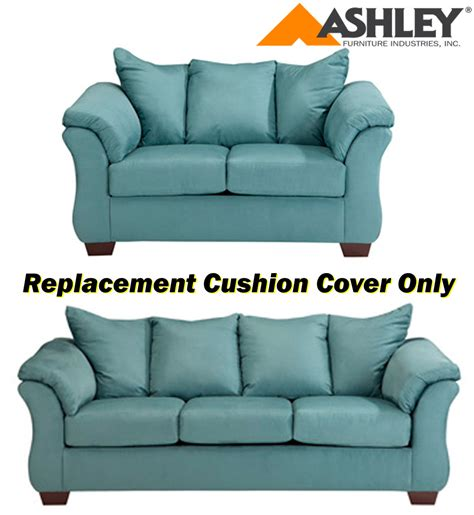 ashley furniture couch cushions ashley 174 darcy replacement cushion cover only 7500638 or