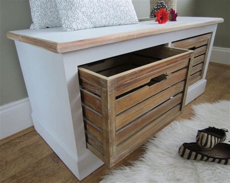 narrow entryway storage bench small benches with storage pollera org